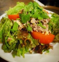 ヤム・ヌァ(タイ風牛肉サラダ)