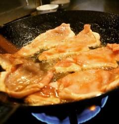 豚肉の香味焼き