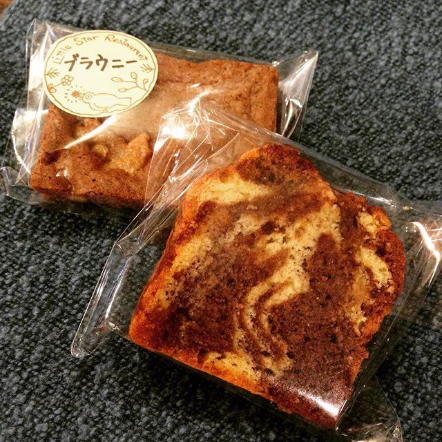 もうすぐバレンタインですね。それに合わせたデザートご用意してます。チョコブラウニーに、パウンドケーキは「チョコマーブル」です。テイクアウトできますので、ちょっとした贈り物に、はたまた自分へのご褒美にどうぞ♪(うめ)