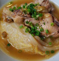 白菜と鶏手羽元のくたくた煮