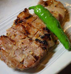 豚肉の粕漬け焼き