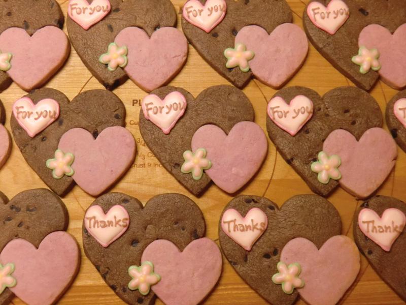 ホーリー謹製「バレンタインクッキー」!