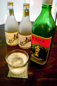 神津島の麦焼酎・盛若