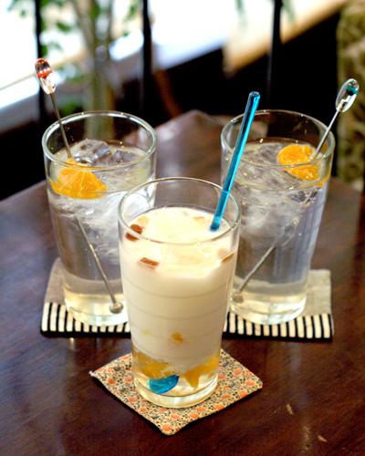 ミックスフルーツ酢ジュース